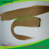 Honey blonde indian remy hair 3bundles straight/wavy/curly double drawn