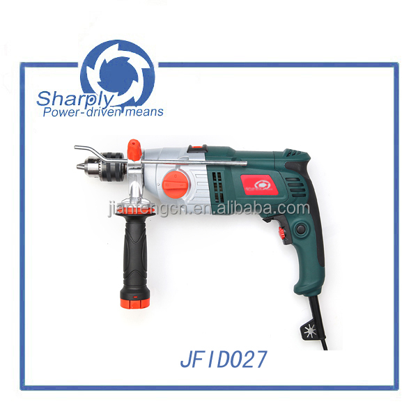 powertec electric hammer drill high class drilling(JFID027),910w power two impact control