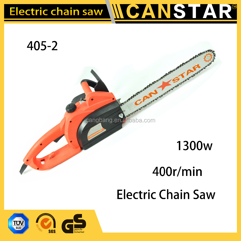 Garden tool cheap electric starter chain saw,1300w mini electric chainsaw