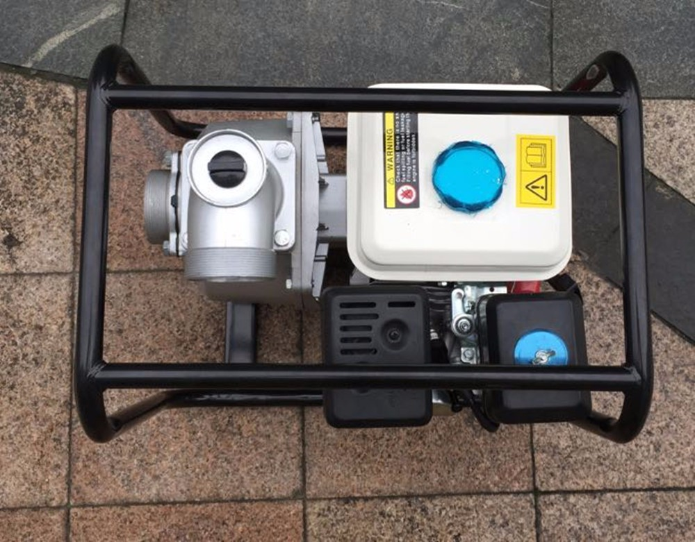 Latest Excellent 6.5hp Engine Electric Gasoline Water Pump for sale
