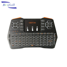 2.4G Rechargeable air mouse Remote Control mini i8 plus wireless keyboard with backlit for android TV box