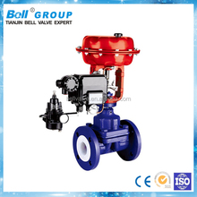 DN400 WCB PTFE Lined Pneumatic Diaphragm Valve