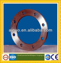 JINAN ZHANGQIU AIGUO forged standard ANSI/DIN/JIS/BS/UNI/AS2129/GOST12820-80/12821-80/EN1092-1/GB/ISO carbon steel forged flange