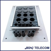 telecom part adjustable type seal cable entry plate
