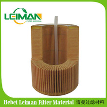 Cured filter paper with 23% phenolic resin / good oil resistance and water resistance filter paper