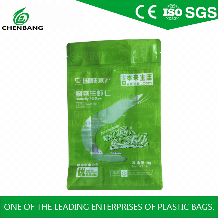 2017 China Factory Food grade plastic packaging bag design customized High Quality Stand Up Bag