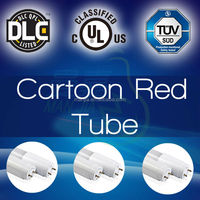 T8 with replaceable driver cartoon red tube