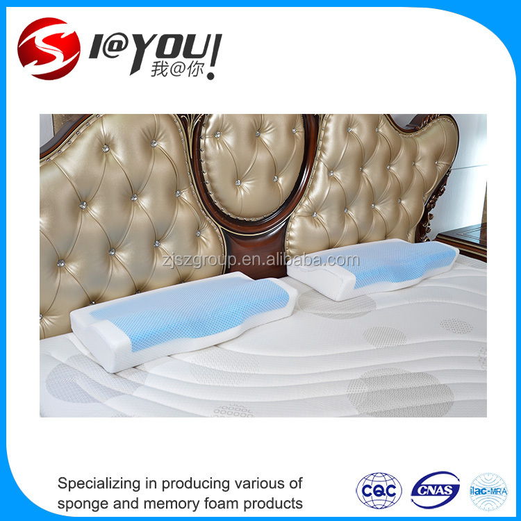 Quality assurance Beautiful and practical Woven memory foam pillow / memory foam neck pillow