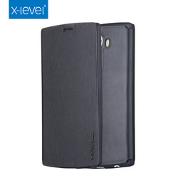 X-Level Free Shipping TPU PU Leather Flip Mobile Phone Case for LG G4