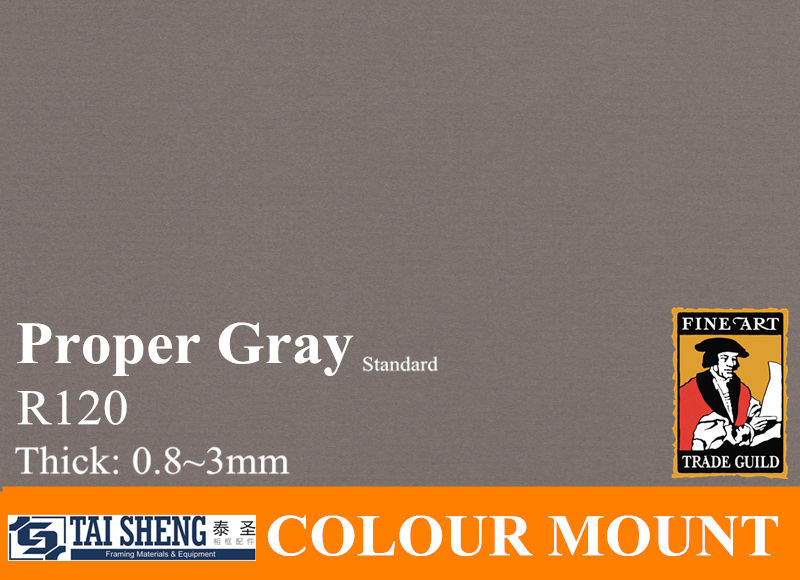 mat board proper gray for picture frame mount cardboard