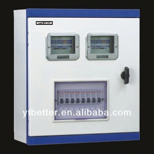 High precision kwh meter case
