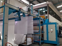 calender machine for textile luster ,smooth effect