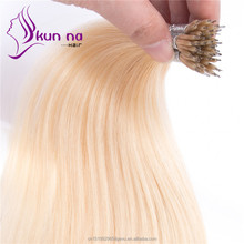 Cheap virgin hair extensions #60 Nano vigrin Brazilian human hair Wholesale