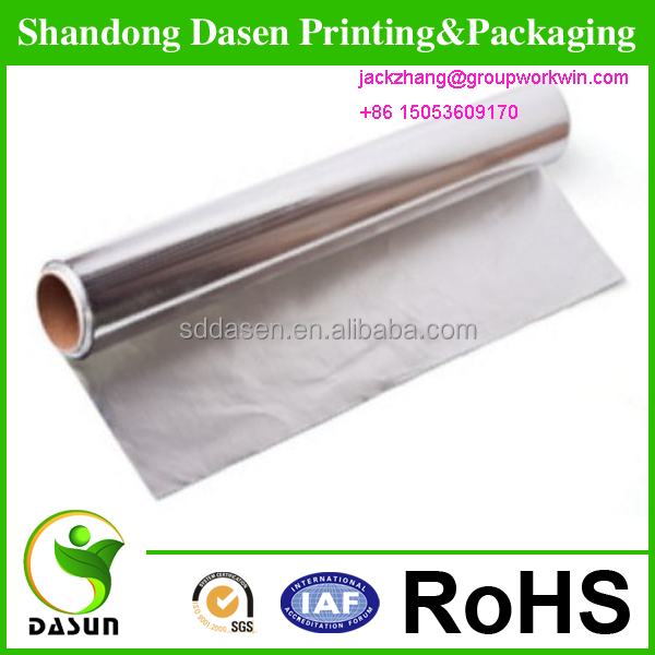 Aluminum Foil Paper For Butter Packing