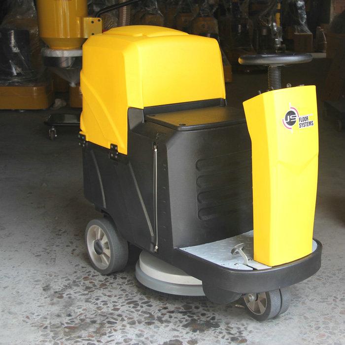 Mini c6 battery power floor scrubber buy marble floor for Concrete floor scrubber