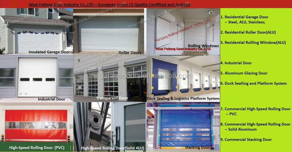 High-speed Metal Door -- Aluminum-alloy Metal with High Speed