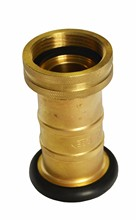 flexible high quality plastic / brass / aluminum fire hose nozzle
