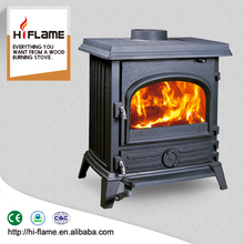 Factory Direct Sale Cast Iron Stoves Wood Burning stove with Glass Door Indoor HF517UB