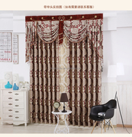 China suppliers curtain 2016 jacquard blackout cationic polymer curtain fabric