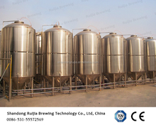 PU insulated stainless fermenter , fermentation tank for beer brewing