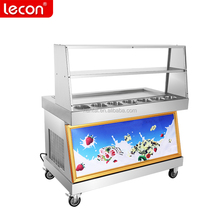 Thai Cold Pan Ice Pan Fry Fried Ice Cream Machine,Instant Ice Cream Rolls Machine on Sale