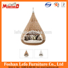 Outdoor PE Rattan Hanging Bed