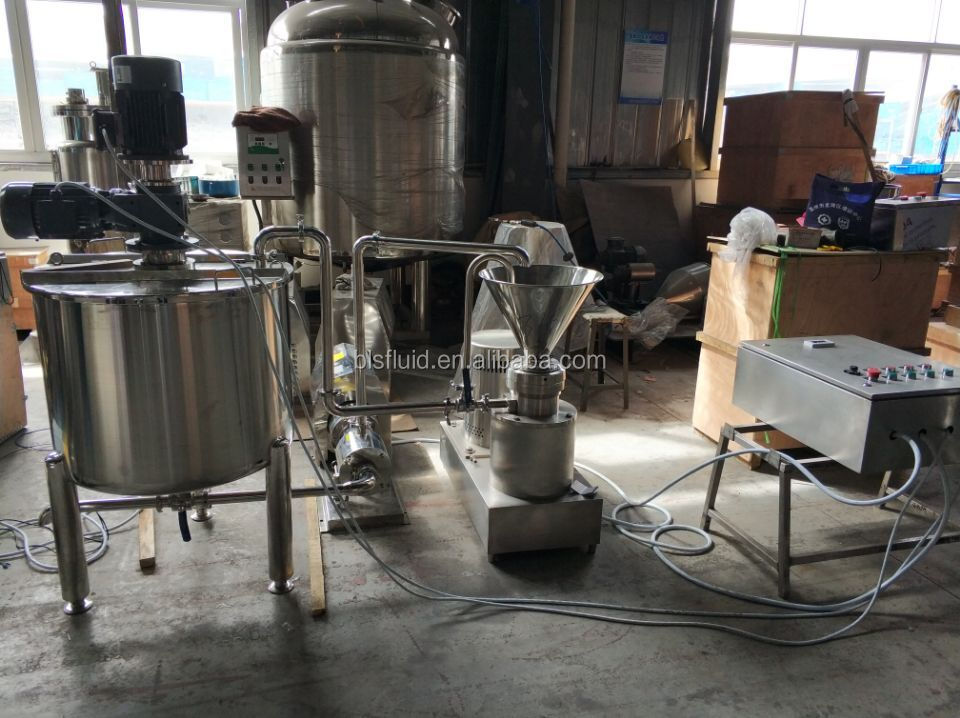 hot sale ketchup/peanut butter grinding and mixing equipment