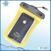 Pvc abs waterproof silicone case for iphone 5s