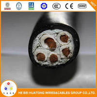 Aluminum DIN xlpe/pvc jacket copper Conductor round cables with Low voltage 1.5-800mm2