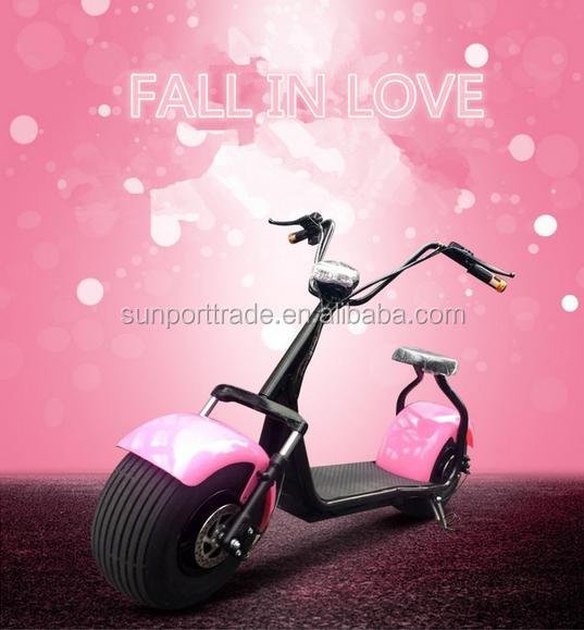 Sunport handicapped motorcycle 2016 New product 1000w electric harley motor scooter used for adults
