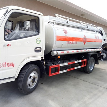 Factory price 4*2 5cubic Oil Mobile fuel /oil /diesel /petrol fuel tanker truck