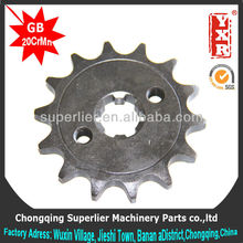 good performance motorcycle sprocket sizes,professional custom industrial sprocket,forging gear box sprocket
