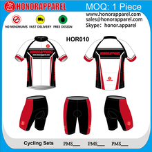 High quality full printing sexy cycling wear honorapparel