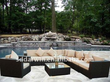 outdoor lounge sofa rattan sv 5s20 buy outdoor lounge. Black Bedroom Furniture Sets. Home Design Ideas