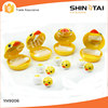 cute yellow duck contact lens container