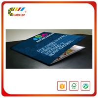 China direct factory fancy paper perfect binding printing catalog