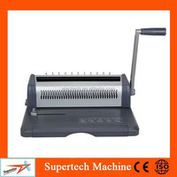 Office Equipment A4 Wire Manual Perfect Binding Machine