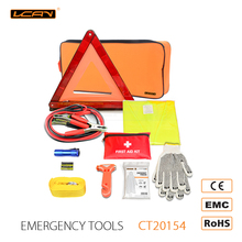 Auto Car Emergency Roadside Kit,Car Emergency Repair Tools Bag