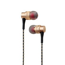 High quality In-ear earbuds and earphones for mobile phones aluminum body and high-definition neodymium drives