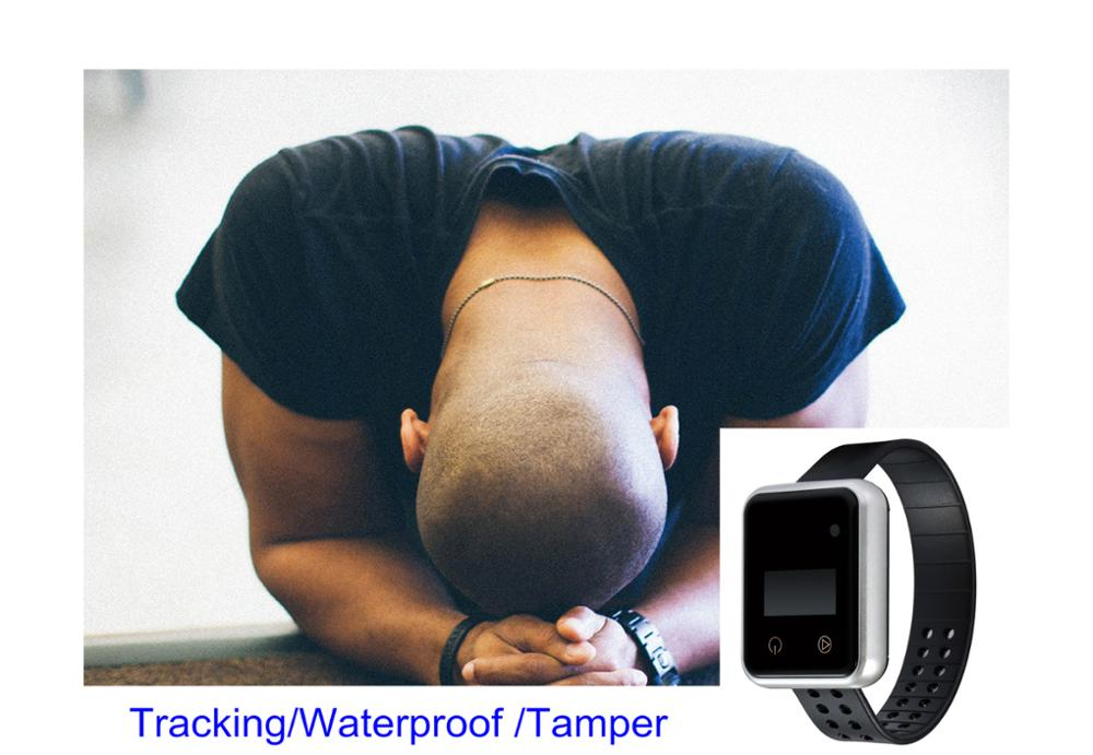 fast track wrist watches prisoners watch with tracking APP