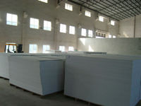 pvc foam sheet / rigid 4X8 white pvc plastic sheet