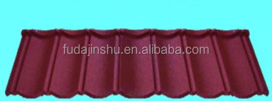 Stone coated metal roof tiles popular in Nigeria