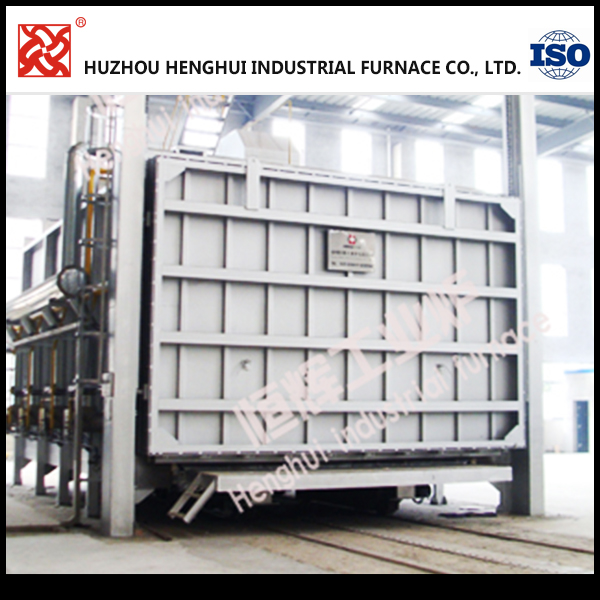 Car type gas high temperature heat treatment furnace for sale