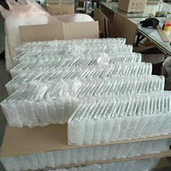 Chinese factory led light acrylic advertising display rack for beer bottle
