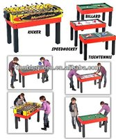 4 in 1 custom foosball table