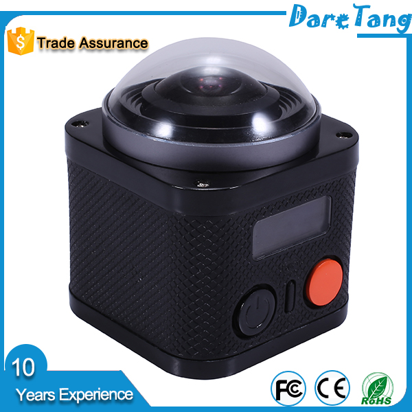 Panoramic 360 degree wifi sport video camera 4K for entertainment purpose