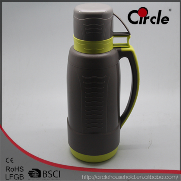 1.8L Plastic Body Glass Liner Tiger Vacuum Flask