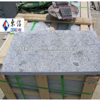 Wholesale China Qingdao Natural Honed/bush hammered /Tumbled/Flamed blue limestone