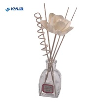 wholesale rattan reed diffuser wooden stick with flower