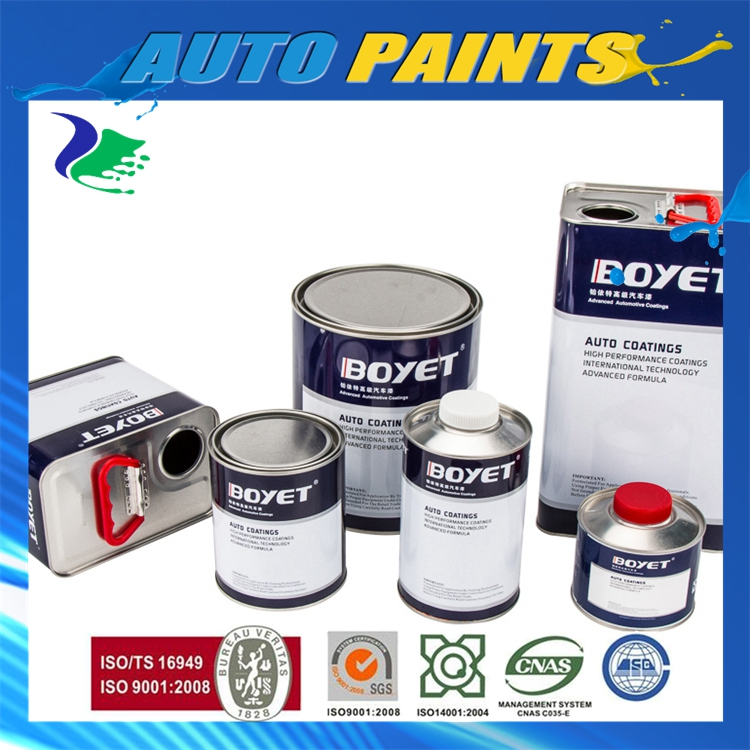 Professional Factory Customizable Auto Paint (2K Color)-Car Paint With Color Sheet